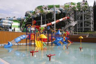 На Львовщине открылся аквапарк за 26 миллионов гривен
