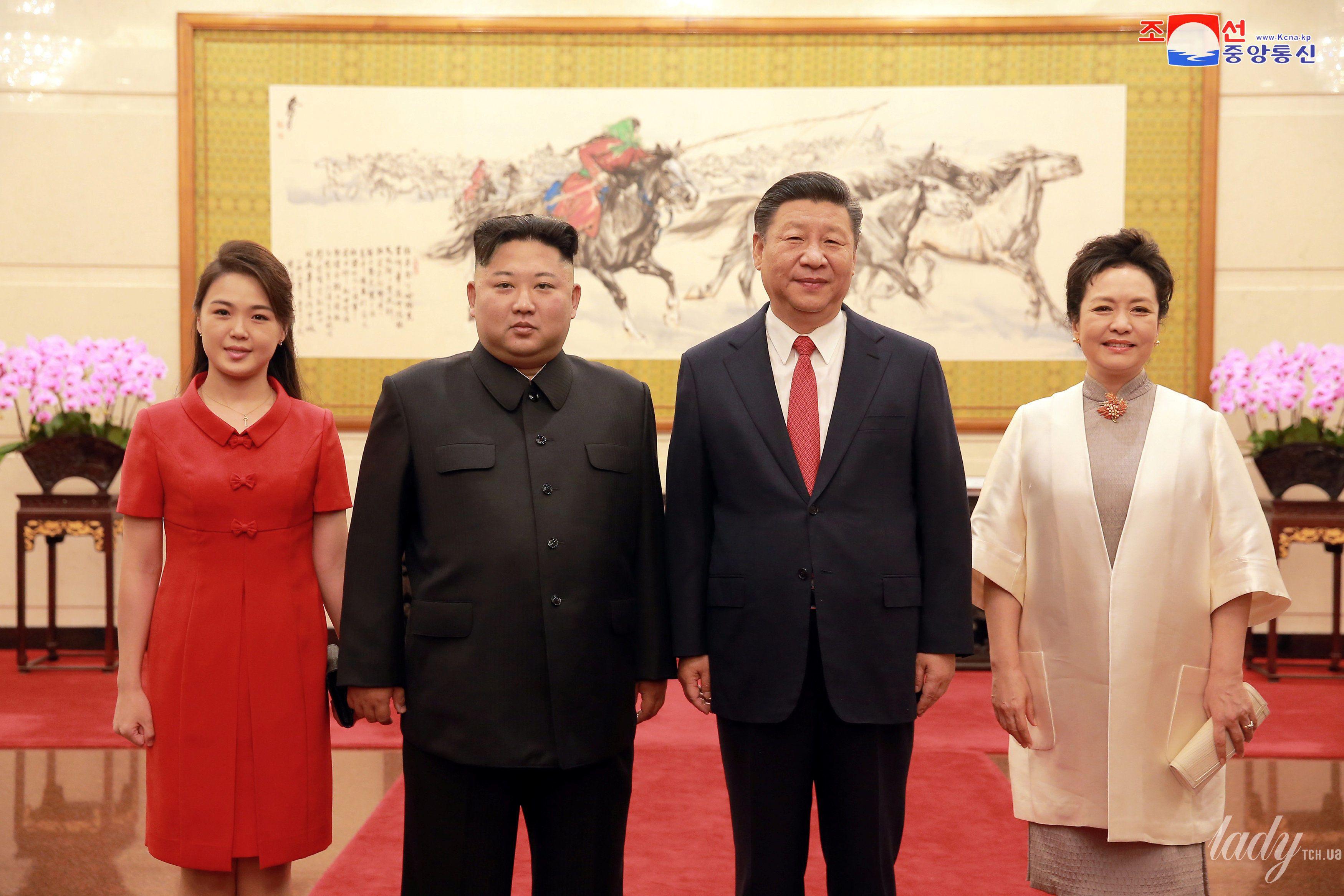 Первая леди КНДР Ли Соль Чжу