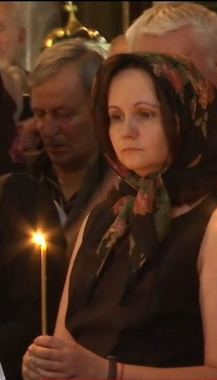 Чиновники, коллеги и ученики пришли во Владимирский собор проститься с Иваном Драчем