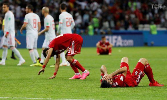 Розчаровані футболісти Ірану