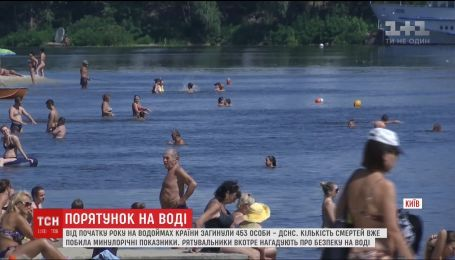 453 человека погибли на водоемах страны с начала года