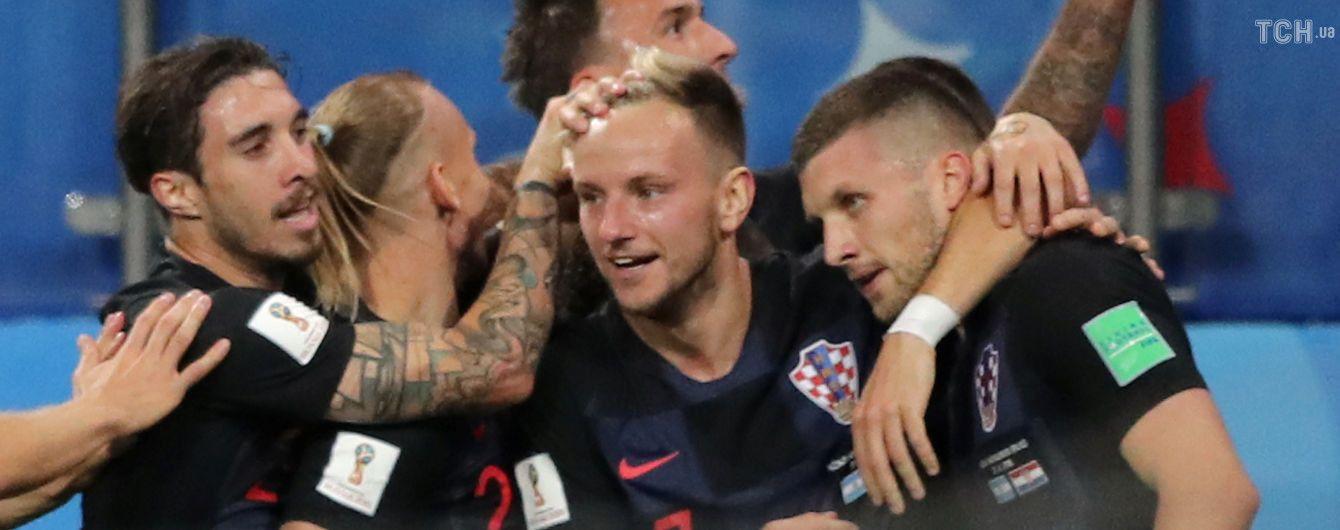 ЧМ-2018: сборная Хорватии благодаря безумному второму тайму не оставила никаких шансов Аргентине