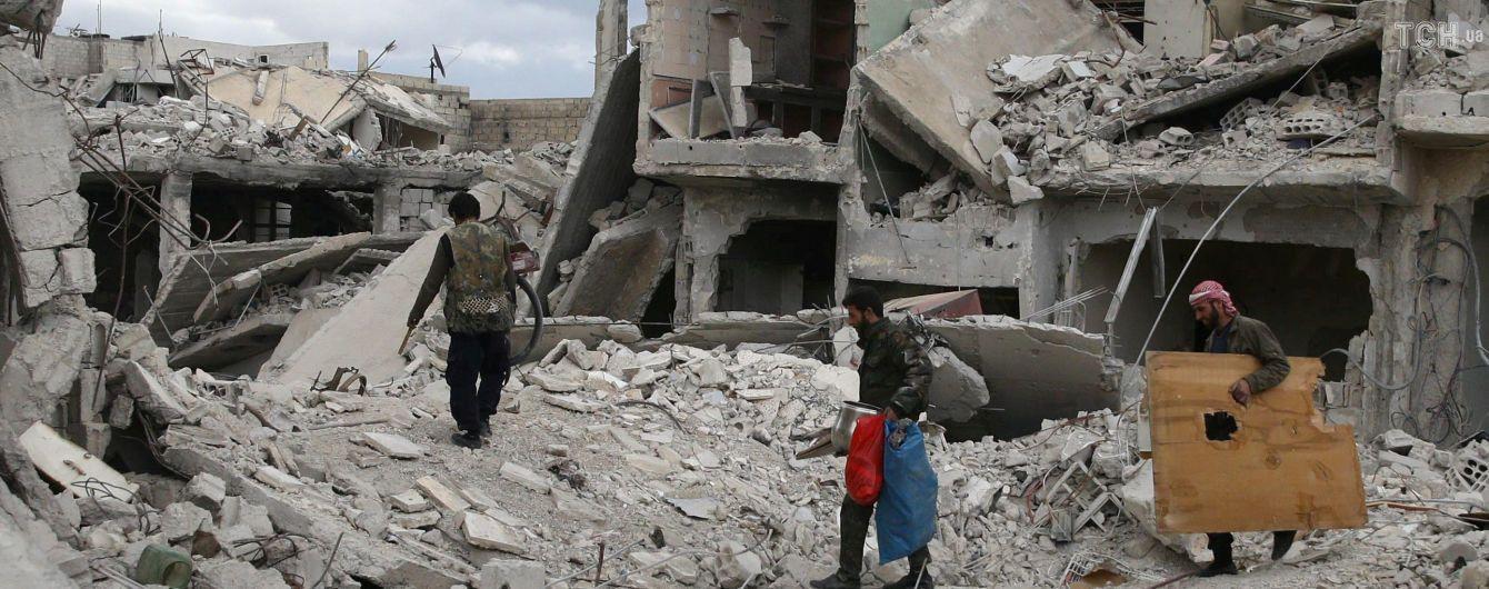 За добу російська авіація завдала 70 ударів по повстанцях у Сирії