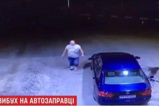Поліція знайшла водія, котрий спровокував пожежу на АЗС біля Києва і втік