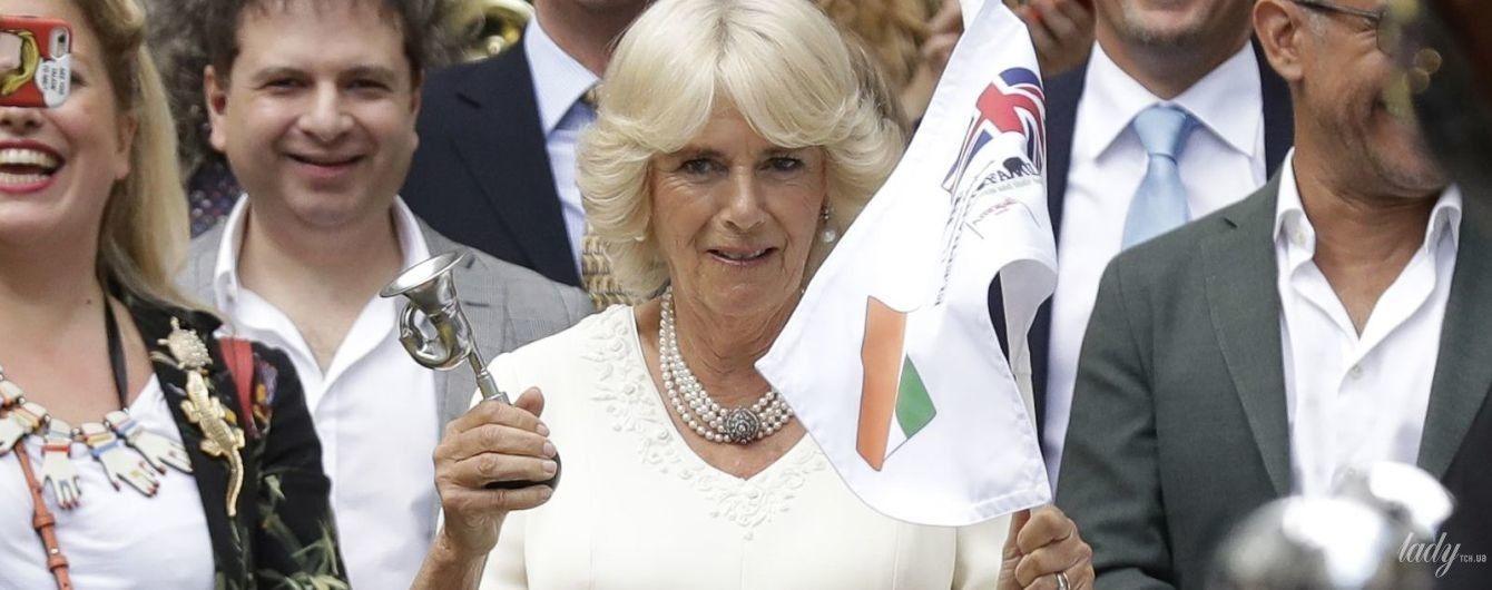 Выглядит блестяще: 70-летняя герцогиня Корнуольская на благотворительном мероприятии