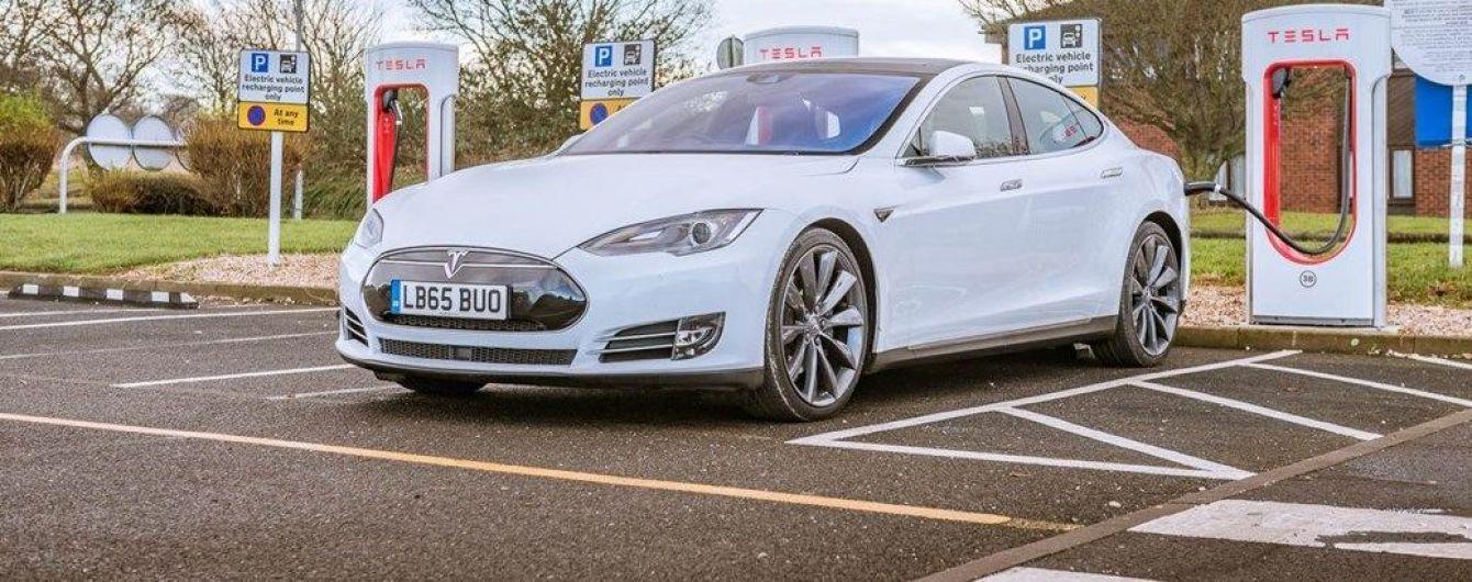 В Україні підрахували кількість електромобілів Tesla