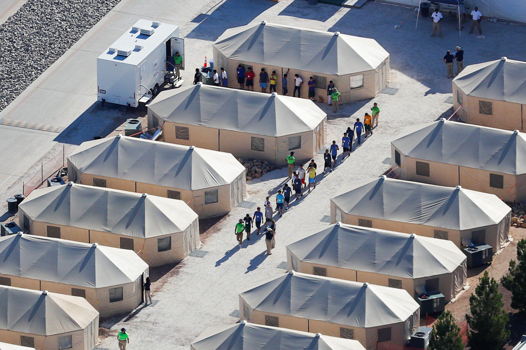 Притулки для дітей-мігрантів у США