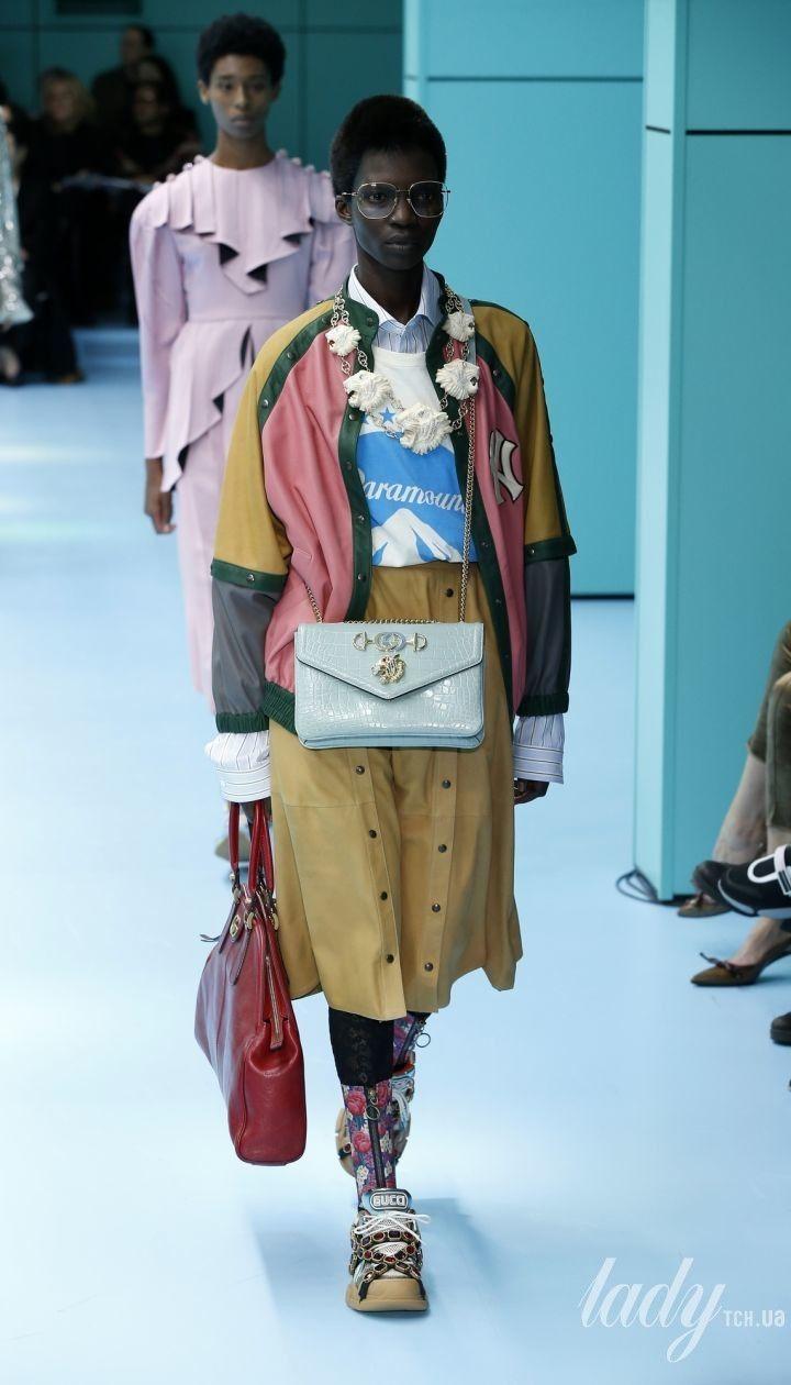 Колекція Gucci прет-а-порте сезону осінь-зима 2018-2019 @ East News