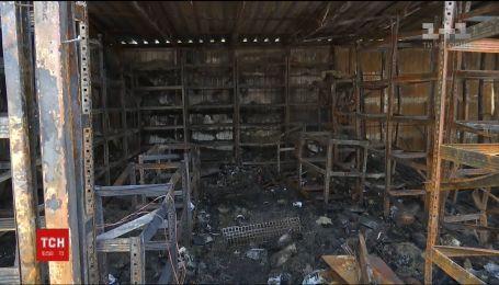 "Поблизу станції метро ""Осокорки"" сталася масштабна пожежа"