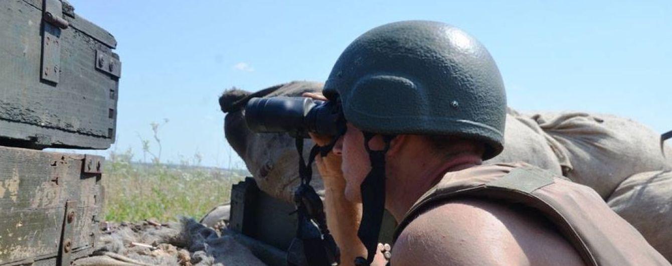 Боевики били на отдельных направлениях. Ситуация на Донбассе