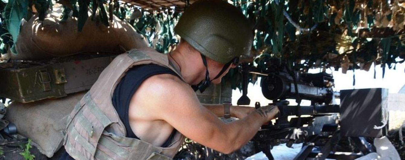 Боевики стреляли на всех направлениях на передовой, ранили украинского бойца. Ситуация на Донбассе