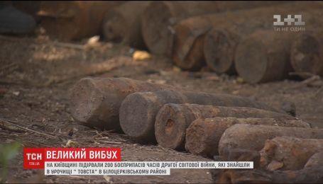 Саперы уничтожили на Киевщине почти 200 боеприпасов времен Второй мировой войны