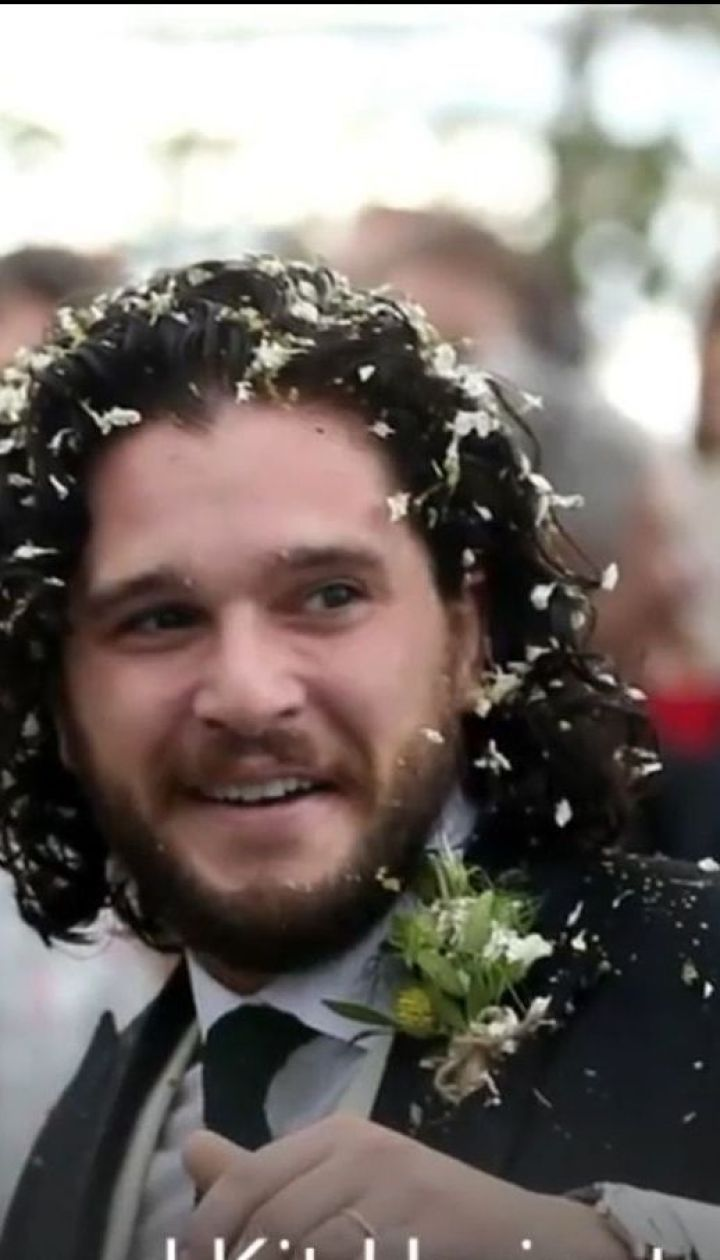 """Джон Сноу і """"дикунка"""": актори """"Гри престолів"""" відсвяткували весілля"""