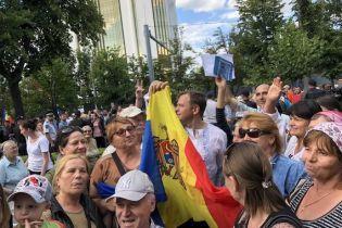 Безстрокова акція: мітингувальники у Кишеневі вимагають визнати результати вибори мера