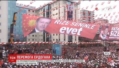 На виборах у Туреччині переміг нинішній президент Ердоган