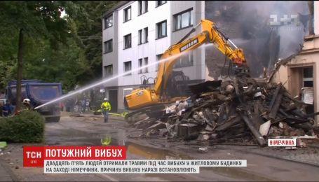 В Германии при взрыве в жилом доме пострадали 25 человек