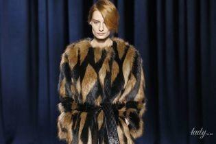 Мех, кожа и глиттер в коллекции Givenchy сезона осень-зима 2018-2019