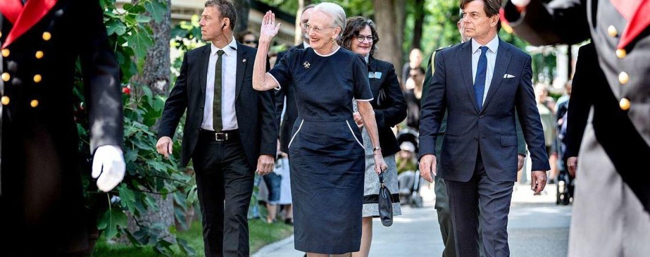 На церемонию в мятом платье: королева Маргрете II оконфузилась