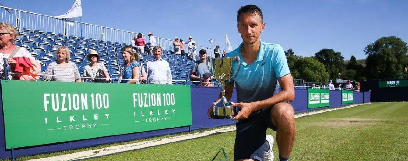Український тенісист Стаховський здійснив прорив у світовому рейтингу