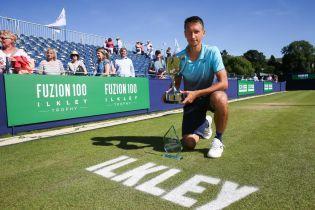 Украинский теннисист Стаховский совершил прорыв в мировом рейтинге