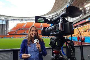Бразильская журналистка пожаловалась на домогательство от российского фаната