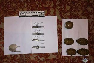 На Сумщине бывший военный взорвал гранату в подъезде, полиция нашла у него еще пять запалов