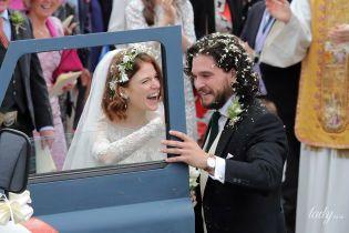 Платье от Elie Saab и старый Land Rover: настоящая английская свадьба Кита Харингтона и Роуз Лесли