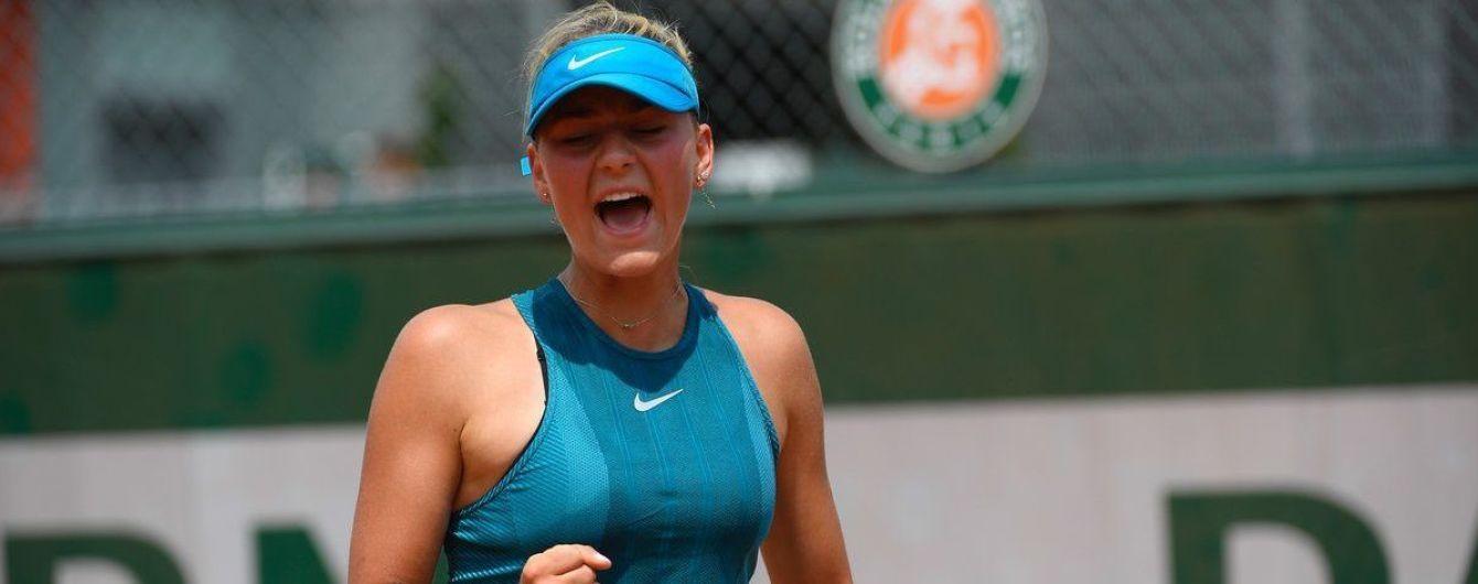Костюк в зрелищном поединке выбила россиянку в квалификации US Open
