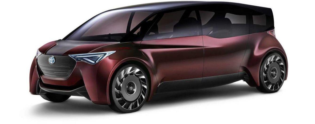 Toyota патентует электрический беспилотник для велосипедистов