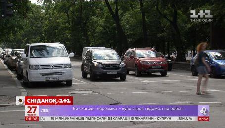 Украинские дороги станут более узкими