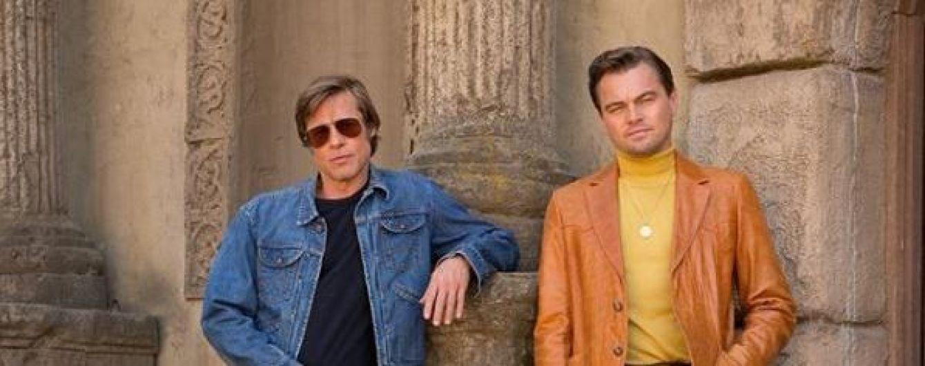 Брутальний Пітт та гламурний Ді Капріо оприлюднили першу світлину зі знімань фільму Тарантіно