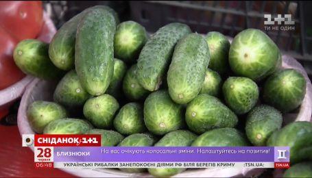 Коли в Україні подешевшають огірки