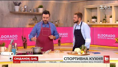 Леонид Веселков приготовил полезный салат, который поможет похудеть