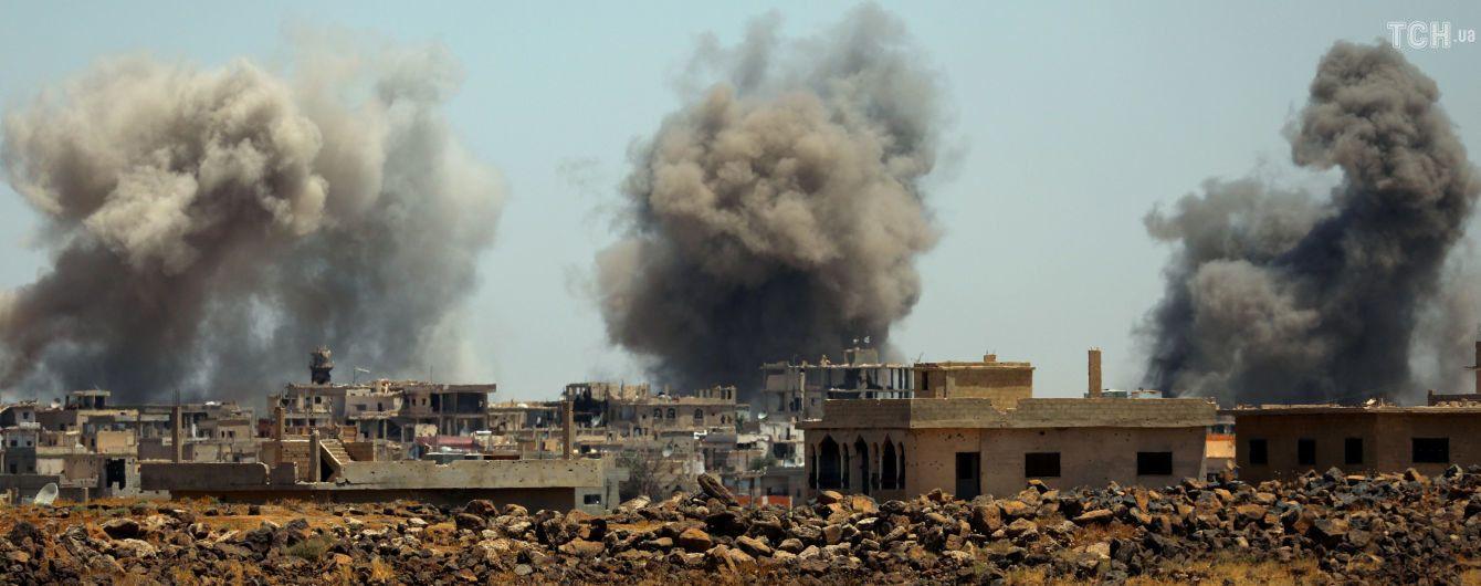 В Сирии обвинили США в подрыве фосфорных бомб, Пентагон открестился от запрещенного вооружения