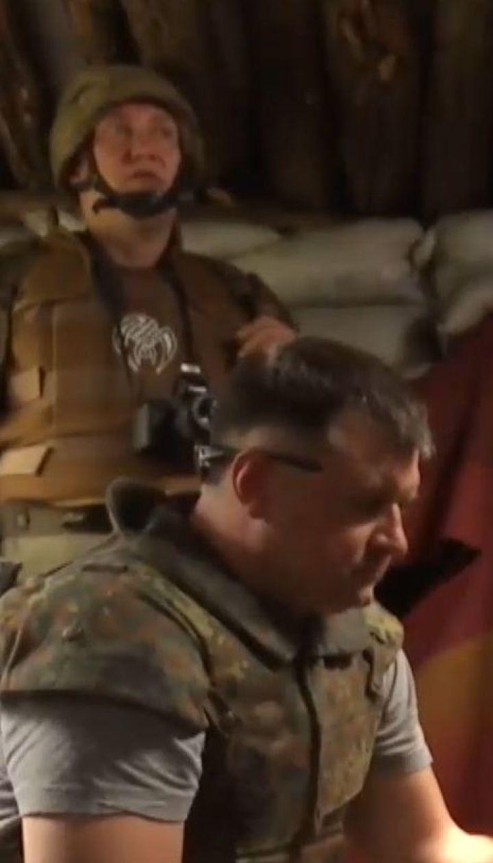 Потери на передовой. Снаряд боевиков попал в наблюдательную позицию украинских защитников