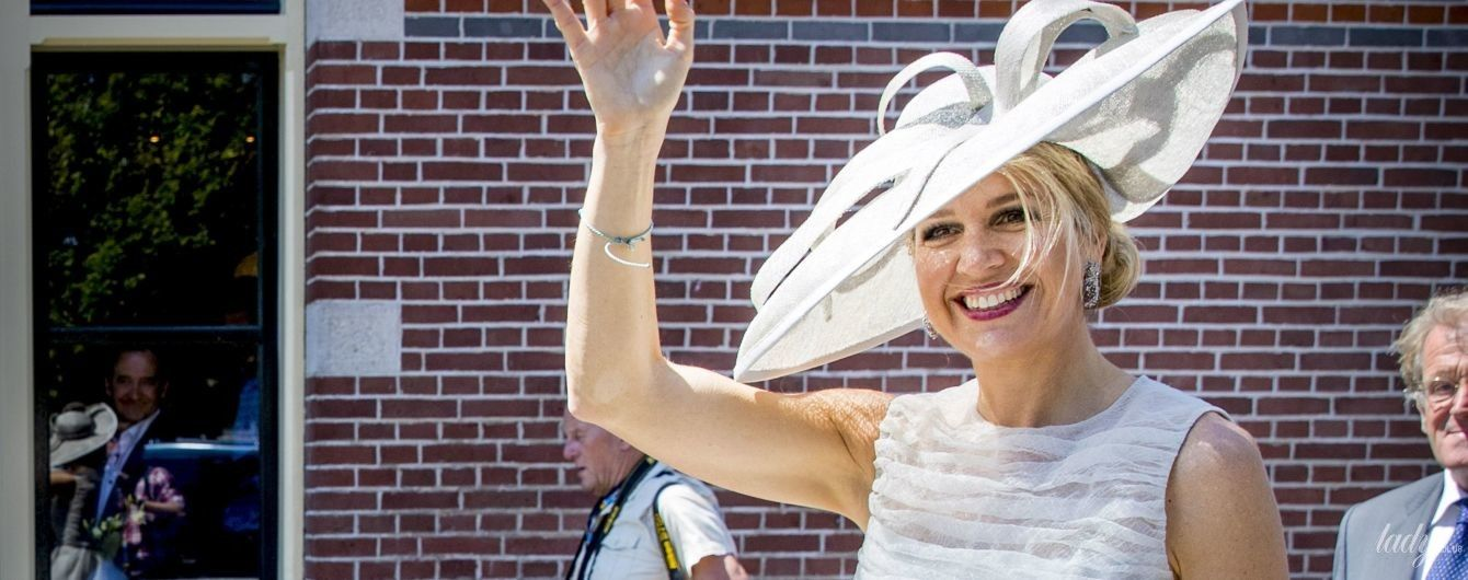 Как всегда, яркая: королева Максима посетила торжественное мероприятие