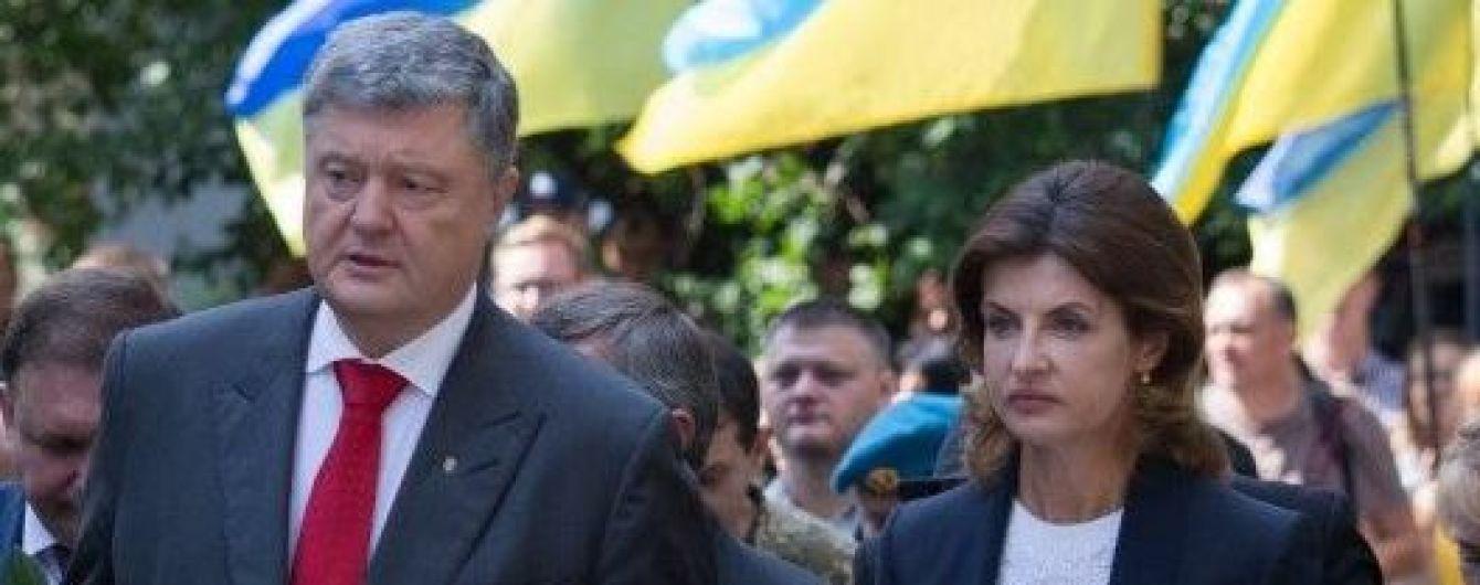 Снова выбрала классику: Марина Порошенко на торжественном мероприятии в Киеве