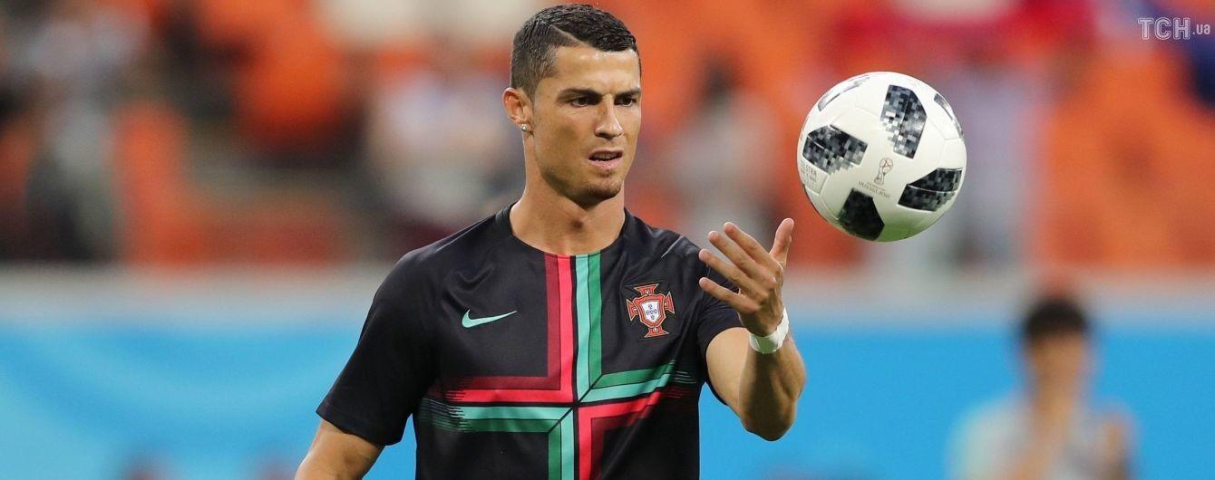 Вопреки законам физики: Роналду забил сумасшедший гол на тренировке