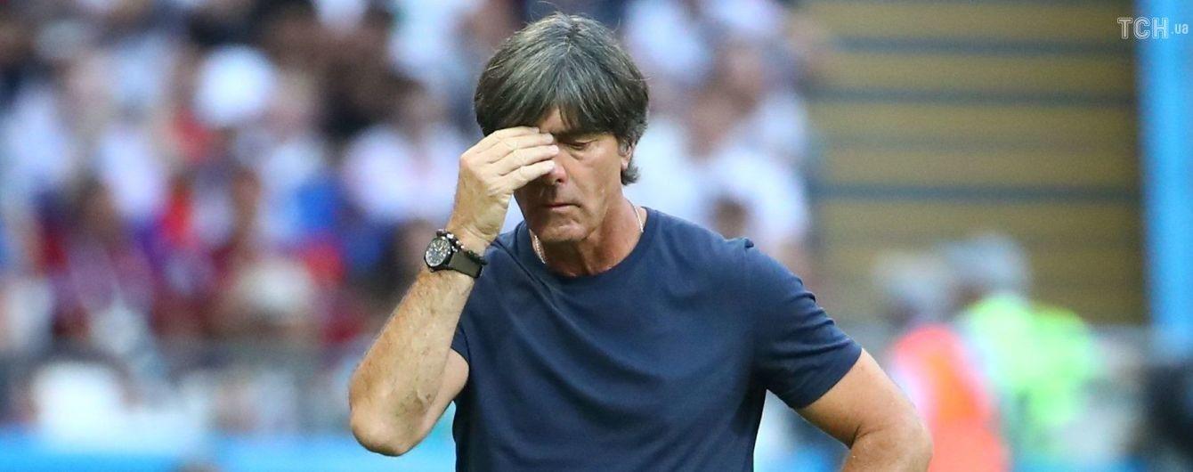 Тренера збірної Німеччини звільнять у разі провалу в матчі з Францією - Bild