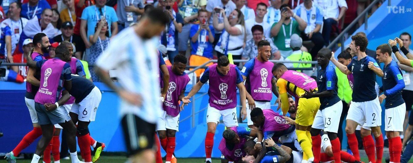 Франция в суперматче разобралась с Аргентиной и вышла в четвертьфинал ЧМ-2018
