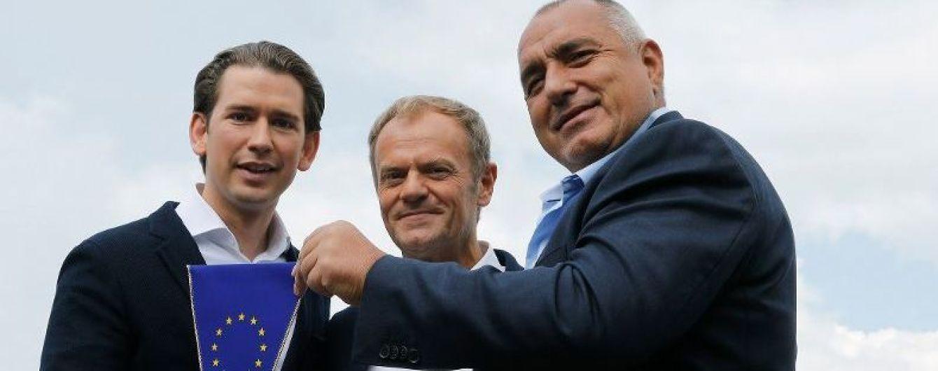 Австрия начала председательство в Совете ЕС, Порошенко опубликовал поздравление