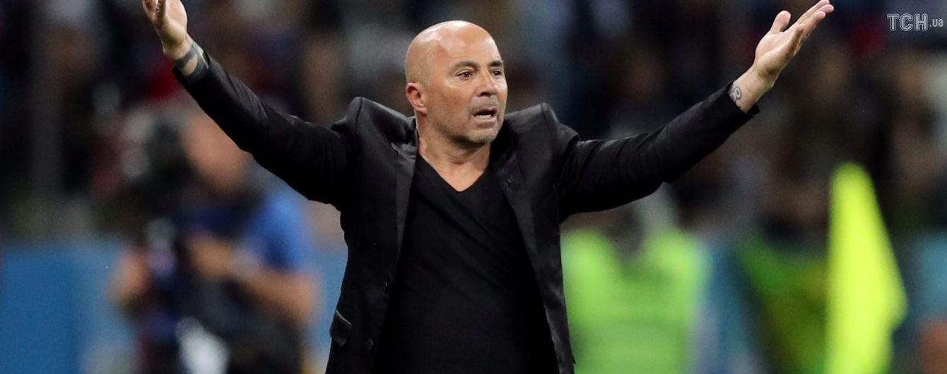 Главный тренер сборной Аргентины отправлен в отставку после ЧМ-2018 - СМИ