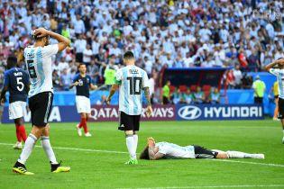 Збірна Аргентини встановила два неймовірні антирекорди на ЧС-2018