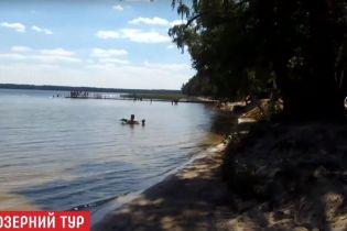 На столичном озере утонул молодой человек