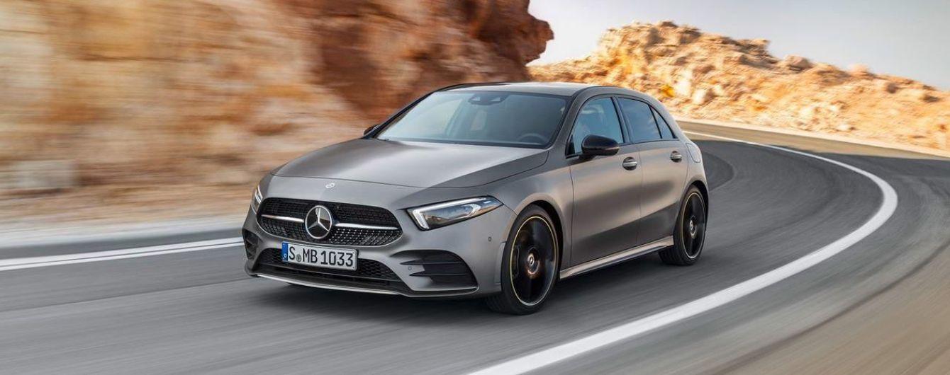 Mercedes-Benz приподнимает завесу над новыми гибридами A-Class