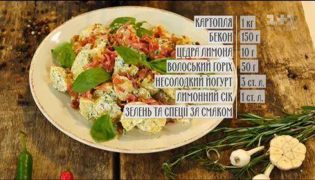 Салат з молодої картоплі - рецепти Сенічкіна