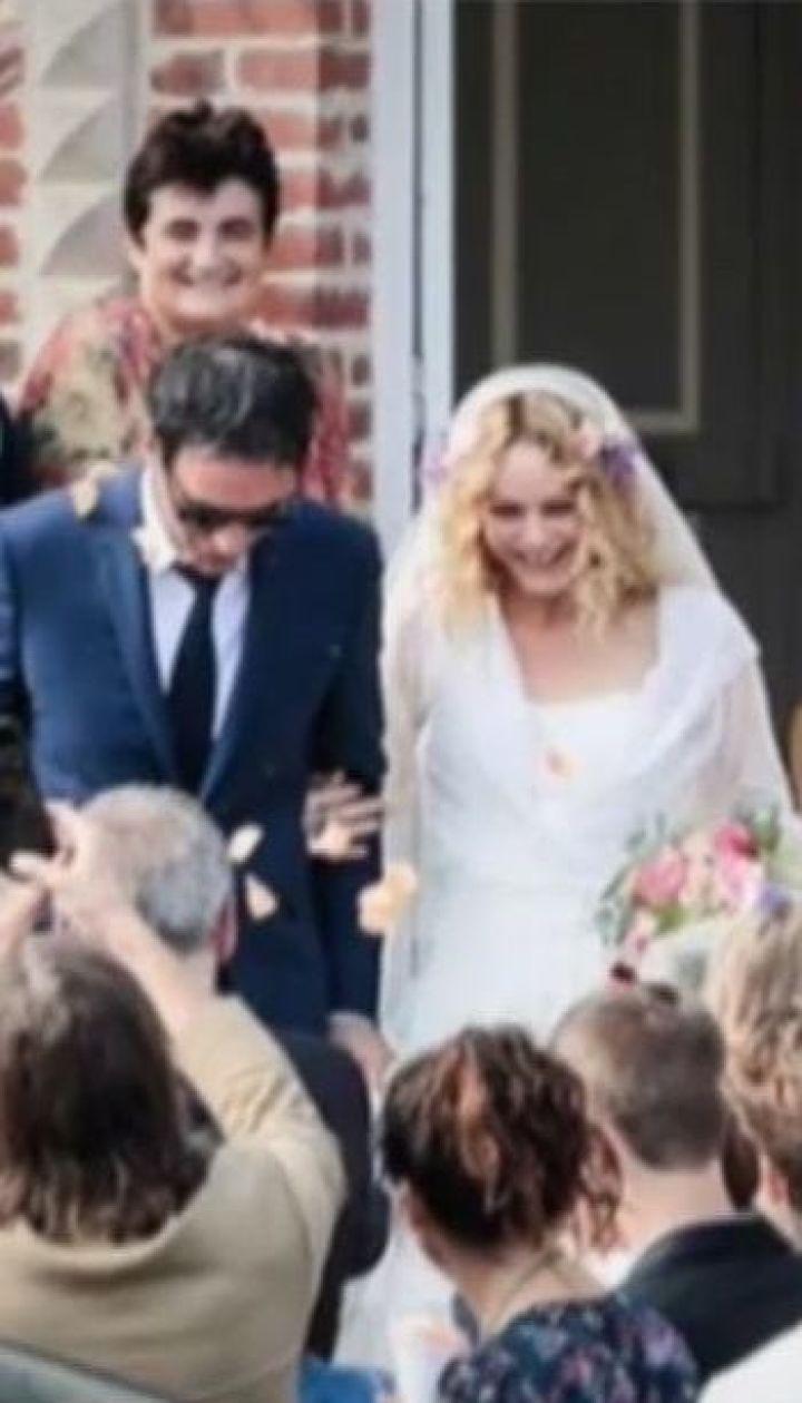 Ванесса Параді вийшла заміж за режисера Самуеля Беншетрі