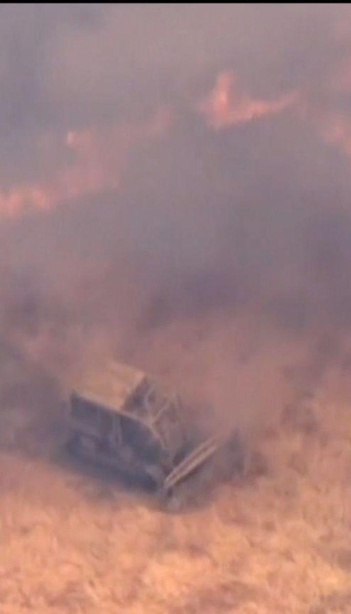 Потужні лісові пожежі охопили північ Каліфорнії