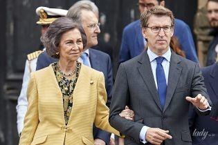 Выглядит прекрасно: 79-летняя королева София посетила публичное мероприятие