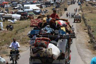 В результате боев на юге Сирии дома покинули больше четверти миллиона беженцев